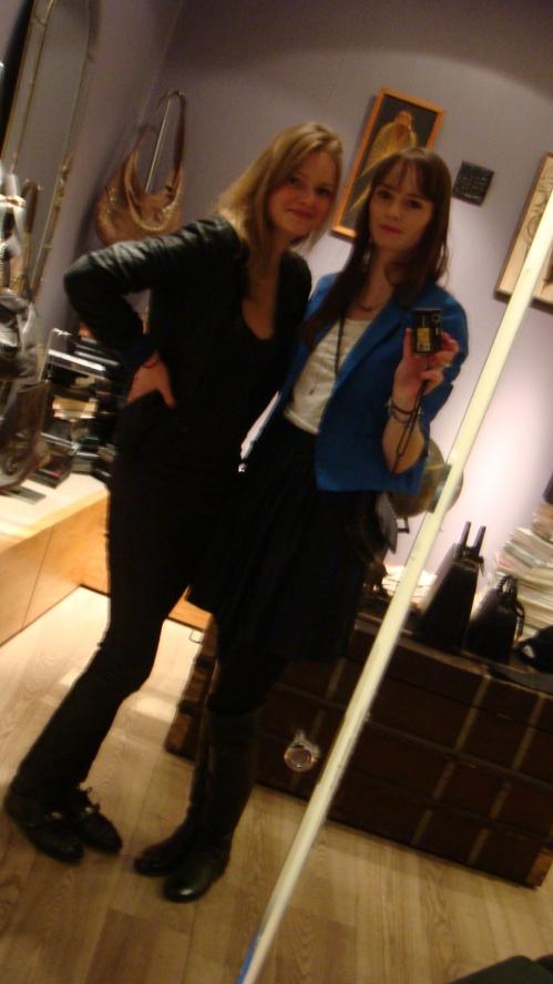 Lotte og jeg