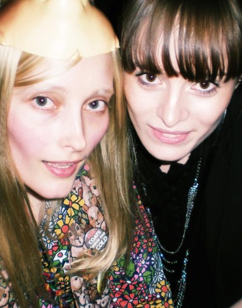 Iekeline Stange og Kathrine Kirk