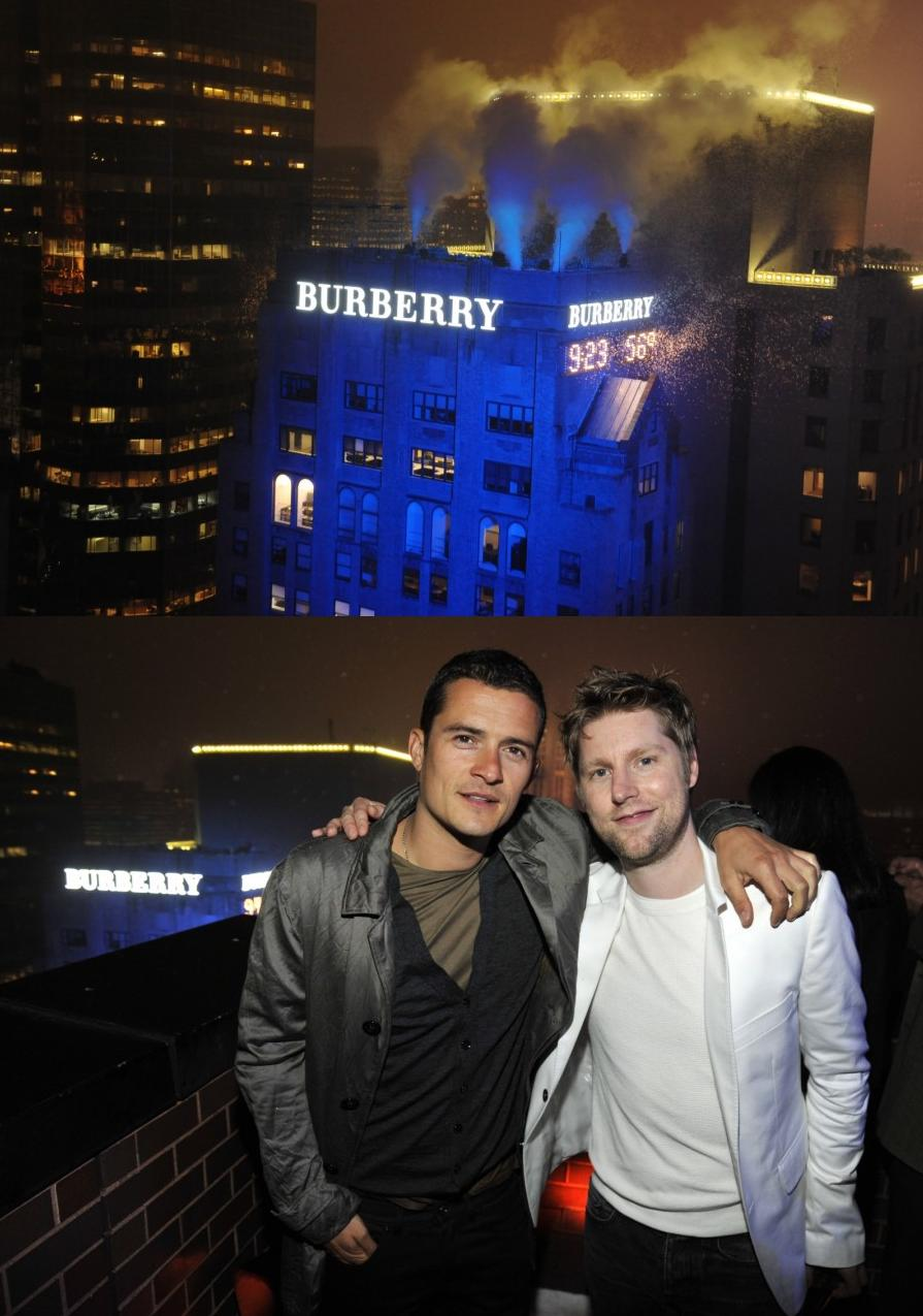 Burberry party