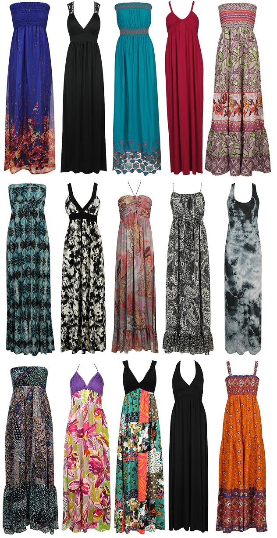 Gulvlange kjoler