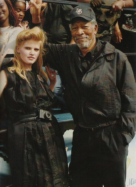Morgan Freeman Lara Stone
