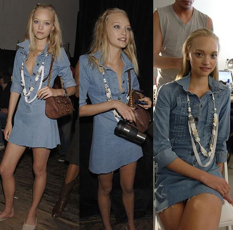 Gemma Ward Denim Dress