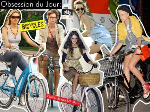 Kendte på cykel