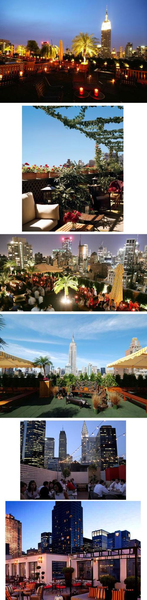New York Rooftop Bars