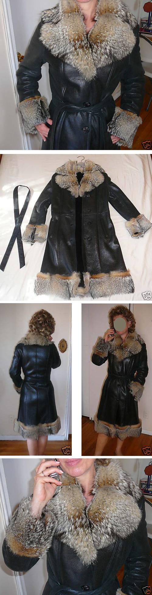 Læder trenchcoat fra Ebay